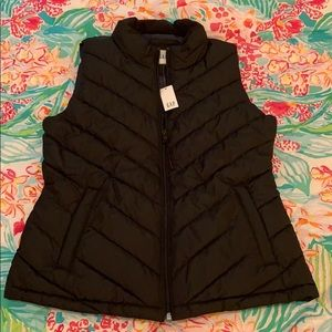 NWT | GAP | Black Puffer Vest